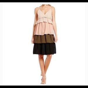 Gianni Bini Dream On tiered ruffle dress